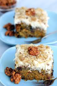 delicious vegan carrot cake