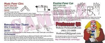 photos and professor qb the magic cafe forums i ll make a custom million dollar bill for you