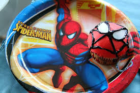 how to make spider man cupcakes kids parties