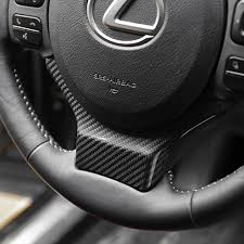ebay motors lexus ct200h carbon fiber car steering wheel decor cover for lexus nx200 200t