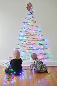 christmas christmas trees ideas easy way to put lights on tree