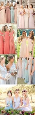 colored bridesmaid dresses top 10 bridesmaid dresses styles for 2017 wedding ideas stylish