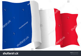 french flag france isolated vector format stock vector 265539260