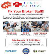 city of huntington beach ca news free fix it clinic july 16