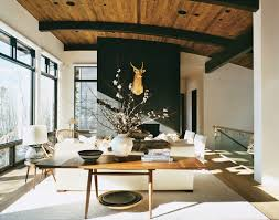 Deer Decor For Home by Red And Brown Living Room Ideas Living Room Decoration