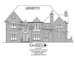 cornwall manor house plan house plans by garrell associates inc