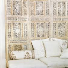 Moroccan Room Divider Furniture Beautiful Moroccan Room Divider With Light Wooden