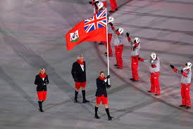Canada Flag Bearer Bermuda Wears Shorts To Winter Olympics Opening Ceremony Time
