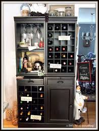 Modular Bar Cabinet A Bit Of Everything Homemaking Accessorizing The Wine Cabinet