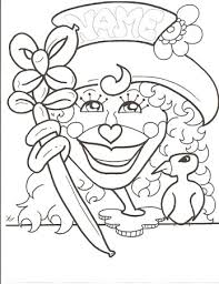coloring pages caricatures alison gelbman