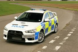 cars mitsubishi lancer mad 4 wheels 2009 mitsubishi lancer evolution x uk police car