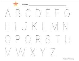 trace abc worksheets free worksheets library download and print