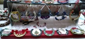 horseshoe christmas ornaments horseshoe decorations