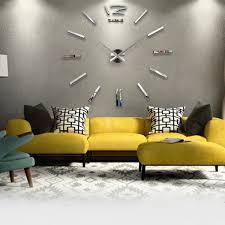 Cheap Wall Mural Online Get Cheap Wall Paper Clocks Aliexpress Com Alibaba Group