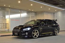 tuned subaru subaru levorg tuned by rowen tampered forbidden fruit u2013 photo