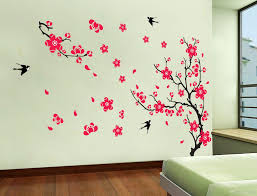 Plum Home Decor by Wall Stickers Home Decor Plum Supply Ay818 Pvc Removable Wall