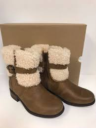 ugg womens water resistant free ugg womens blayre ii boots 1008220 chestnut size 8 ebay