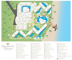 Barefoot Landing Map Secrets Silversands Riviera Cancun