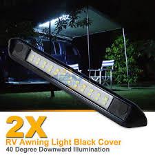 travel trailer led lights 2x 12v led awning light rv cer trailer boat exterior cing bar