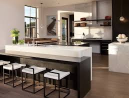 Kitchen Counter Island Kitchen Countertop Ideas 30 Fresh And Modern Looks
