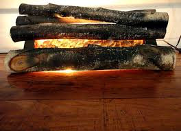 Scented Fireplace Logs by Vintage Fireplace Logs Fire Place Insert Faux Fake Fire Vintage