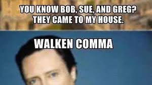 Christopher Walken Memes - the shatner comma imgur