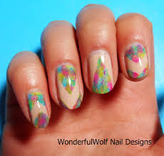 festival nail art u2013 wonderfulwolf