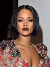 bob hairstyle with part down the middle 11 fierce relaxed bobs for black women 2018 hairstyle guru