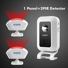 Curtain Motion Detector Wireless Motion Sensor Curtain Pir Detector Door Gate Entry Bell