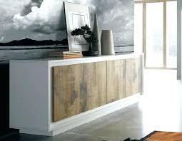 buffet de cuisine en bois buffet bois et blanc buffet de cuisine en bois blanc et