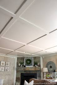 coffer ceilings faux coffered ceiling confessions of a serial do it yourselfer