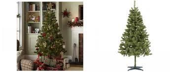 6ft christmas tree 6ft greenland christmas tree 9 75 tesco direct