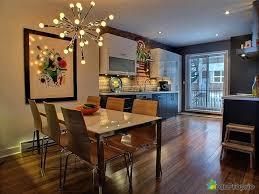 salon cuisine aire ouverte impressionnant cuisine aire ouverte et ilot cuisine transformable