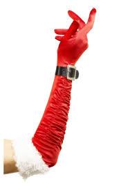 Longs Long Santa Gloves