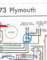 neutral safety switch harness question specific to 1974 for a