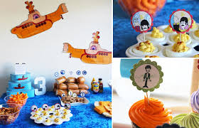 Music Party Theme Decorations Kara U0027s Party Ideas The Beatles Inspired Music Rock Star 60s Birthday