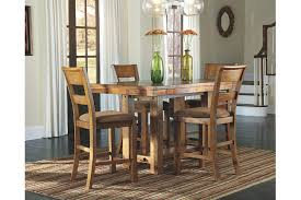 Krinden Counter Height Dining Room Table Ashley Furniture HomeStore - Height of dining room table
