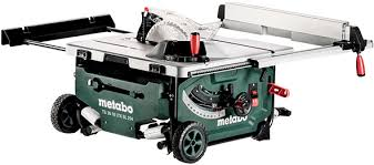 hitachi table saw price world s second ever cordless table saw metabo 18v x 2 with 10