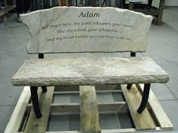 Personalized Park Bench Engraved Memory Bench Custom Made Memory Bench That Will Become