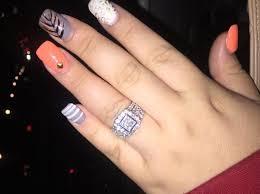 3 carat engagement rings engagement ring 3 carats tw 14k white gold