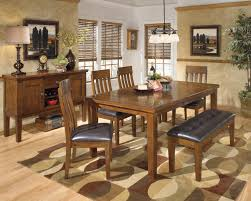 upholstered breakfast nook furniture create your dream eating space with ashley dinette sets