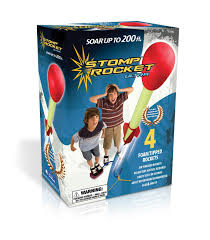 amazon com the original stomp rocket ultra 4 rockets toys u0026 games