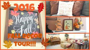 Home Fall Decor 2016 Home Fall Decor Tour Youtube