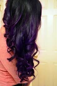 black hairstyles purple 80 best all hail the purple mane images on pinterest colourful