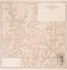 Wisconsin Topographic Map by Wisconsin Geological U0026 Natural History Survey Report On Lead And