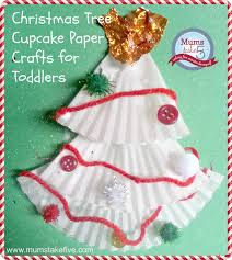 Christmas Kids Craft Using Cake Patty Liners