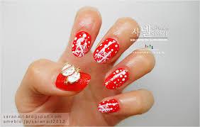 sara nail bright red nail polish color red nail art red polish