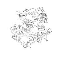 craftsman tractor parts model 917 287420 sears partsdirect