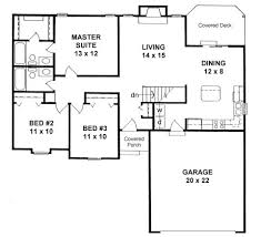 ranch style floor plans sg 1152 floor plan small ranch style house plan hwbdo76732