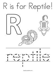 Reptile Coloring Pages Twisty Noodle Reptile Coloring Pages
